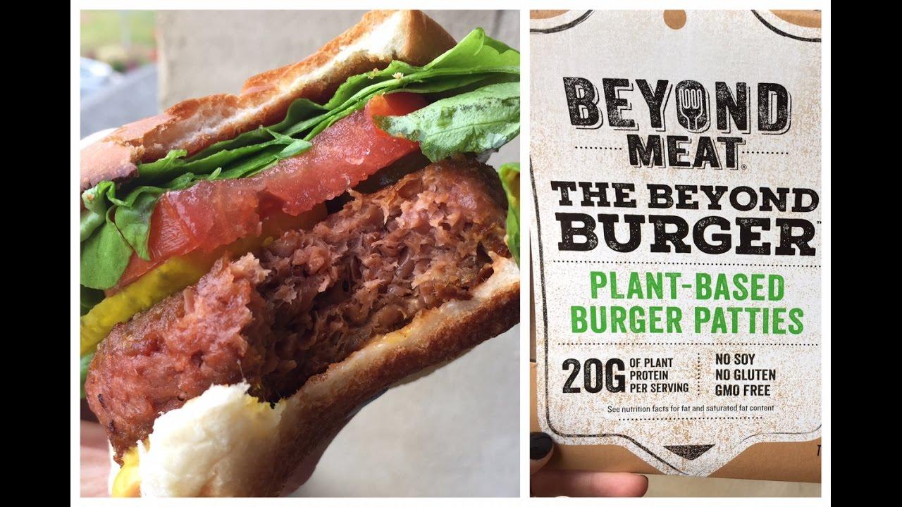 Beyond Meat Burger Tas...