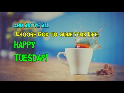 Good Morning Tuesday Tuesday Inspirational Quotes Youtube