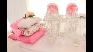как красиво украсить свадебный стол