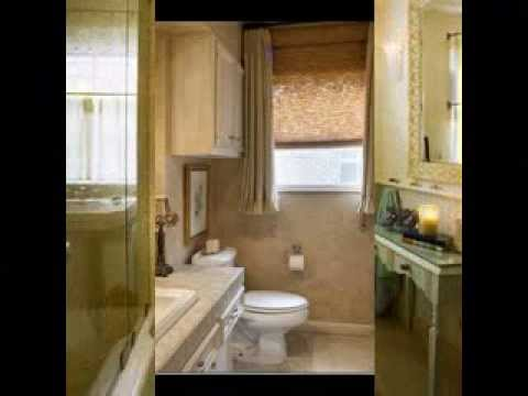 Bathroom window curtain ideas