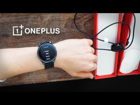 CNET tar en titt på OnePlus Watch Vad följer med i lådan?