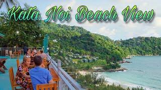 Kata Noi Beach view restaurant Phuket Thailand