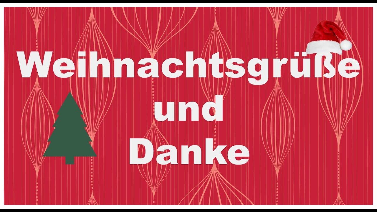 ❤ Besinnliche Weihnachten für alle & Danke |FinchensWelt - YouTube