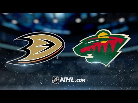 Three late goals power Wild past Ducks, 5-3, at home