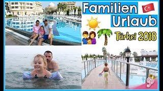 1. Familien Urlaub | Hotel Roomtour | Motte übt schwimmen | Sonne, Strand & Meer 🏝FamilyVlog #235