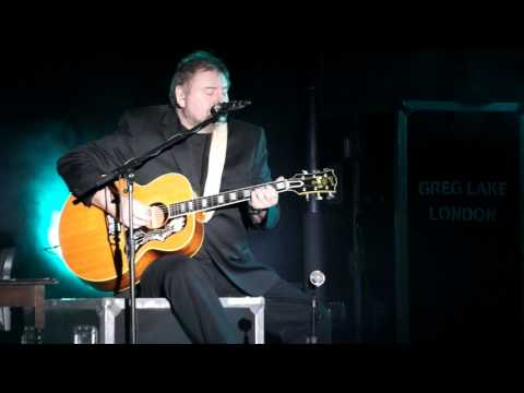 Greg Lake - I talk to the wind (Firenze, Viper Theatre, December 5th 2012)