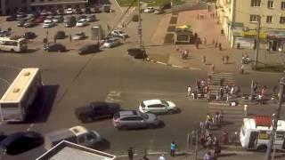 Снес толпу пешеходов Новокузнецк
