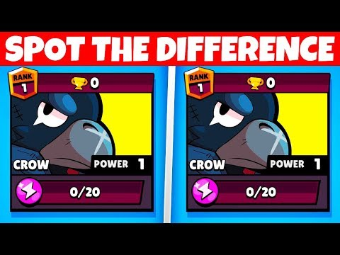 NOBODY CAN FIND THE DIFFERENCES! (100% FAIL) | Brawl Stars Challenge Game