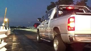 Dodge Hemi Ram first Test Run w/ 87 octane Superchips tune