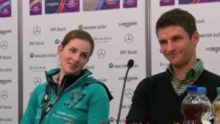Lisa und Thomas Müller Stuttgart German Masters