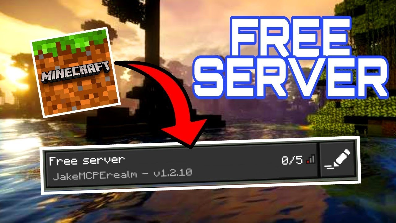 How To Make A FREE SERVER For MCPE Minecraft Bedrock Edition - Minecraft pe server erstellen raspberry pi