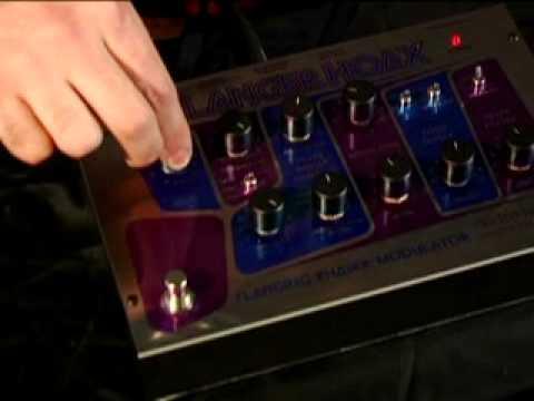 Flanger Hoax - Demo By Dan Miller - Phaser/ Flanger Modulator - Electro Harmonix