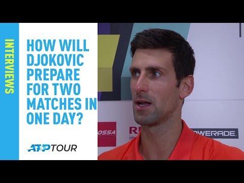 "Djokovic: ""I Played Very Solid"" Against Shapovalov | Rome 2019"
