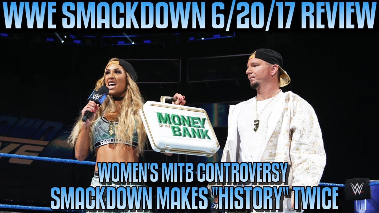 Download WWE Smackdown 6/20/17 Review Results & Reactions: DANIEL BRYAN RETURNS, WOMENS MITB CONTROVERSY