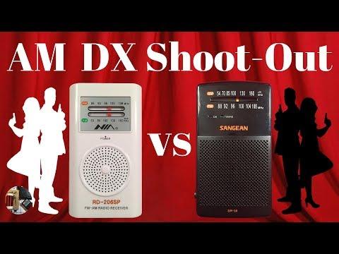 AM DX Shoot-Out! : $7 NIA RD-206SP vs $18 Sangean SR-35