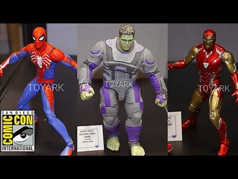 SDCC2019 Reveals/Thoughts: Marvel Diamond Select Avengers Endgame Iron Man and Hulk Figures