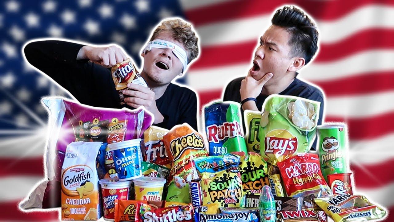 Jiedel Guess & Rate American Snacks!