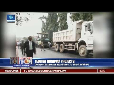 Minister Fashola Visits Bayelsa,Akwa Ibom States