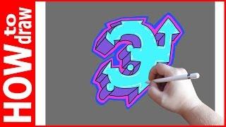Как нарисовать граффити буквы, Э № 1(INSTAGRAM: https://www.instagram.com/dmitrysyrman/ Я в ВКОНТАКТЕ: http://vk.com/syrman_d Группа в ВКОНТАКТЕ: http://vk.com/public59608073 I'm on ..., 2016-09-29T03:29:35.000Z)
