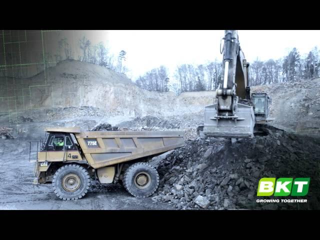 BKT Tires at Work - OTR