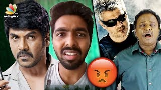 GV Prakash, Raghava Lawrence voice out for Thala Ajith, Vivegam Negative Reviews   Blue Shirt