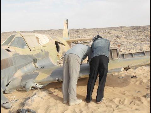 Unknown Aircraft Found in desert Sahara ( 1940's)