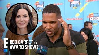 Michael Strahan Talks New TV Show With Courteney Cox | E! Red Carpet & Award Shows