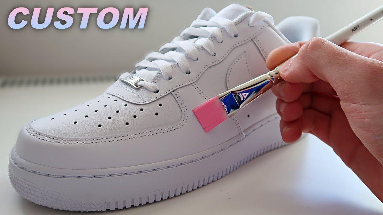 Custom Air Force 1's!! ????