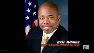 Eric Adams, Brooklyn Borough President, on NYC Democratic Debate | BK Live