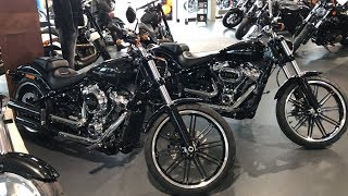 New 2018 Harley-Davidson Breakout Vivid Black 114cui 107cui