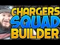 ALL-TIME SAN DIEGO CHARGERS SQUAD BUILDERS & GAMEPLAY | MADDEN 16 ULTIMATE TEAM
