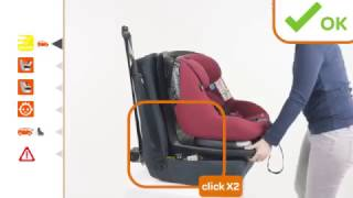 Maxi-Cosi AxissFix | How to install the car seat