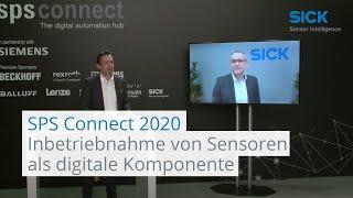 Virtuelle Inbetriebnahme von Sensoren als digitale Komponente | SICK AG