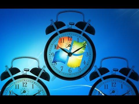 Despertador Windows 7 - Programador de Tareas