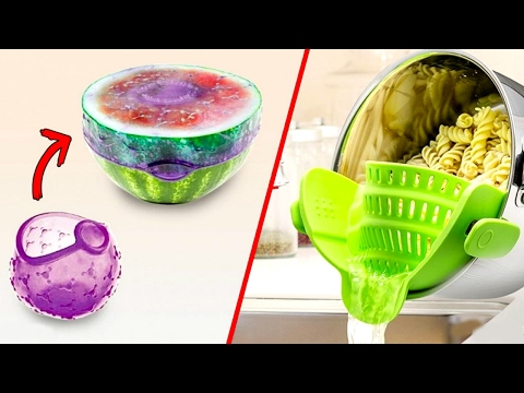 Thumbnail: 33 Amazing Kitchen Life-Hacks That Are Absolutely Genius l 5-MINUTE CRAFTS COMPILATION