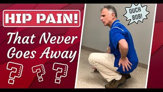 Hip Pain? STOP These 5 Things or It Will NEVER Go Away