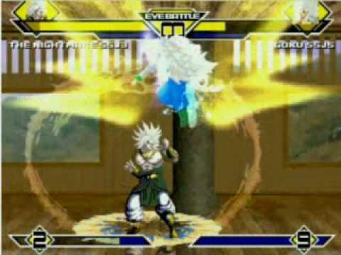 The Nightmare / Broly SSJ3 vs. Goku SSJ5