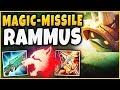 WTF! MISSILE RAMMUS ONE-SHOTS PEOPLE WITH 1000+ MS?! THIS IS 100% TOO STRONG! - League of Legends