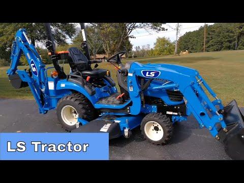 LS MT125 Tractor VS Massey Ferguson GC1705 GC1710 GC1720 - YouTube