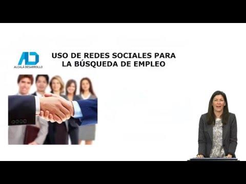 Uso de redes sociales para la búsqueda de empleo
