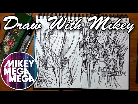 How Do You Get Back In The Mood To Draw? - Draw With Mikey 20