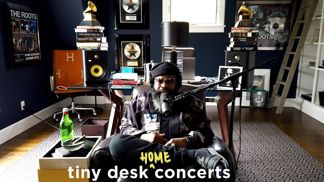 Black Thought of The Roots: Tiny Desk (Home) Concert