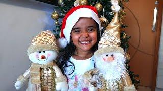 BIA LOBO Montando a Árvore de Natal