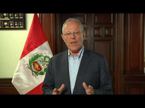 President Pedro Pablo Kuczynski presents the Peru Travel Mart – PTM 2017