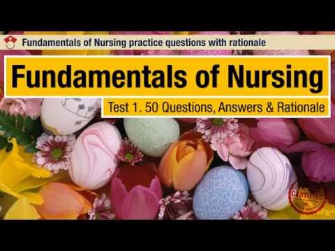Fundamentals Of Nursing Test 1 YouTube