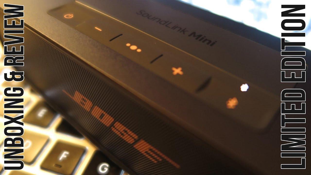 NEW! BOSE SoundLink Mini II LIMITED EDITION - YouTube 62383ec918e80