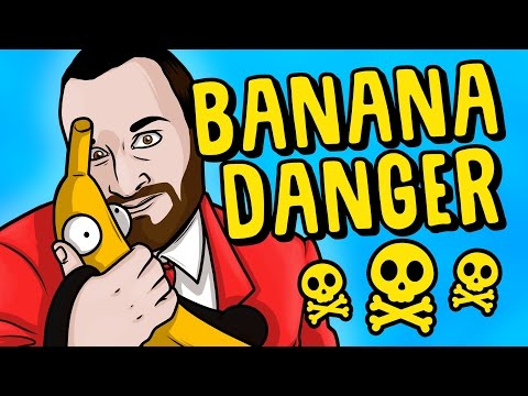 Bananas Are DANGEROUS!!! - Garry's Mod Funny Gameplay Moments