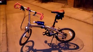 Folding Bike with Drop Bar Ends - Dahon Vigor P9 bicycle