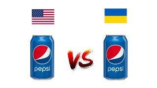 PEPSI Украинская и Американская / Пробую / Сравниваю/ Почему же они разные?