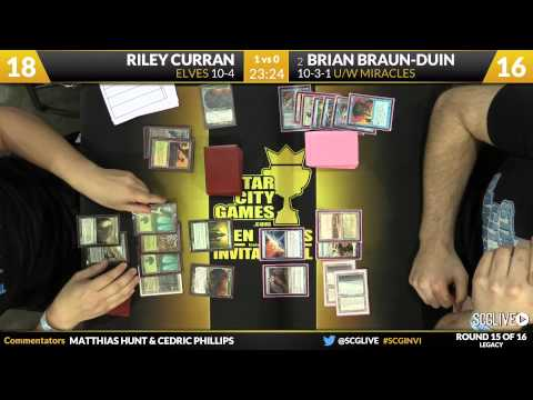 SCGINVI - Invitational - Round 15 - Brian Braun-Duin vs Riley Curran